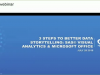 3 Steps to Better Data Storytelling: SAS® Visual Analytics & Microsoft Office