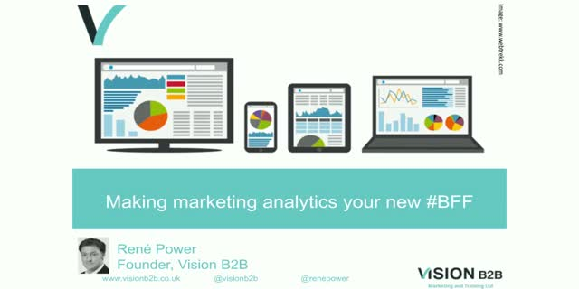 How to make analytics your new best friend