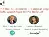 The Big BI Dilemma - Bimodal Logical Data Warehouse to the Rescue!