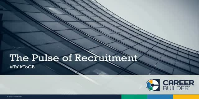 Health Care Pulse of Recruitment Insights