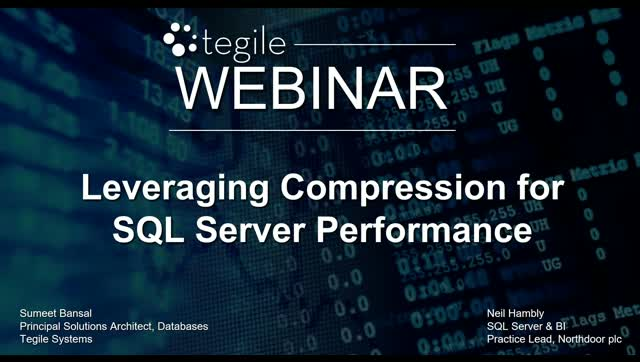 Leveraging Compression for SQL Server Performance
