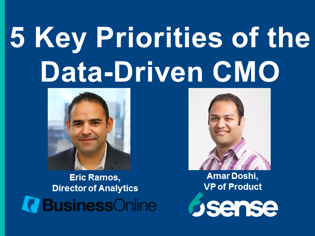 5 Priorities of the Data-Driven CMO