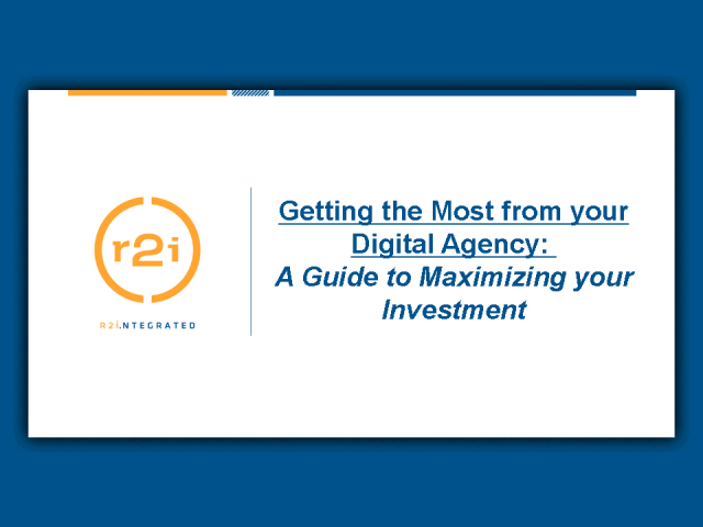 Getting the Most from your Digital Agency