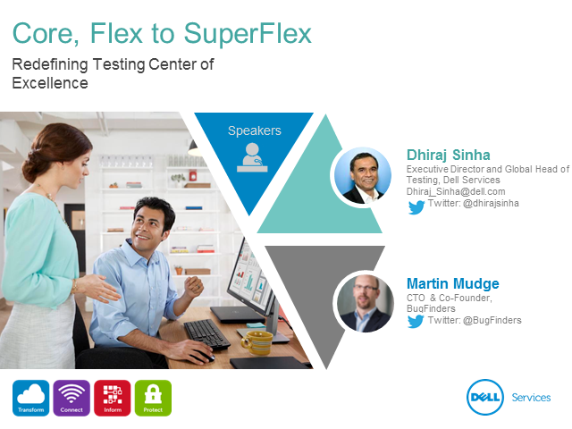 Core, Flex to SuperFlex: Redefining Testing Center of Excellence