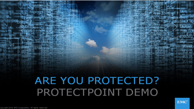 Tech Talk: ProtectPoint Demo