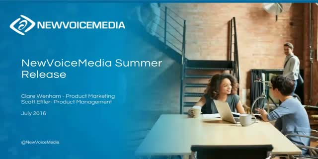 NewVoiceMedia's Summer Release – Have More Successful Customer Conversations
