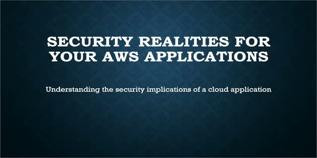 How to Protect Your AWS Applications from Attackers with Security Analytics