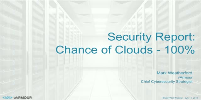 To the Cloud: Ready or Not! …The Catalyst for Better Cybersecurity?