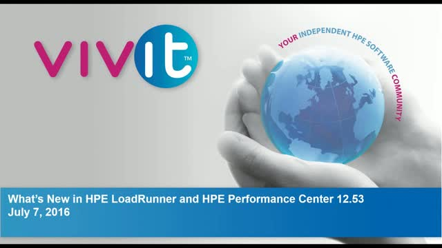 What's New in HPE LoadRunner and HPE Performance Center 12.53