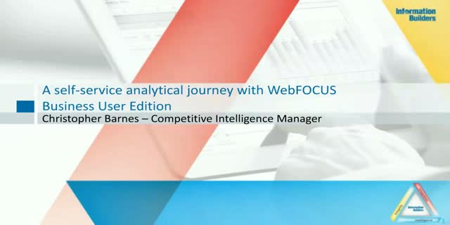 A self-service analytical journey with WebFOCUS Business User Edition