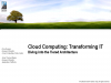 Catalyst Preview - Cloud Computing's Business Advantage