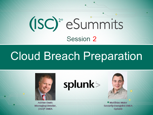 eSummit Session 2: Cloud Breach – Detection and Response