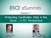 eSummit Session 1: Protecting Cardholder Data in the Cloud – A PCI Perspective