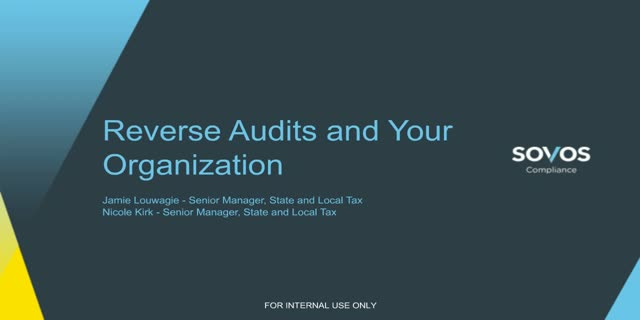 Reverse Audits and Your Organization