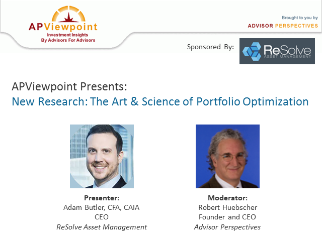 New Research: The Art & Science of Portfolio Optimization
