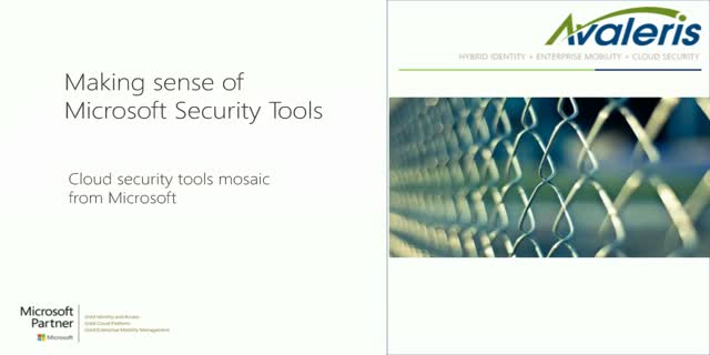 Making sense of Microsoft security tools