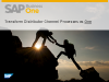 Business Opportunity Webinar –Distribution Transformation using SAP Business One