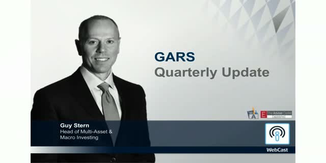 GARS Quarterly Update Time 1