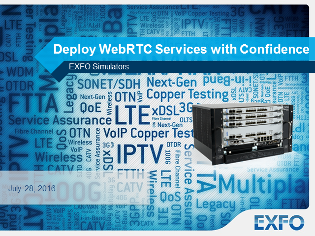Deploy WebRTC Services with Confidence