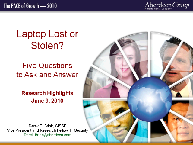 Laptop Lost or Stolen? 5 Questions to Ask and Answer