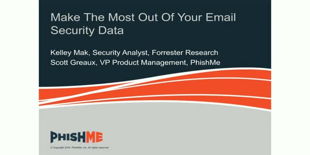 Make The Most Out Of Your Email Security Data