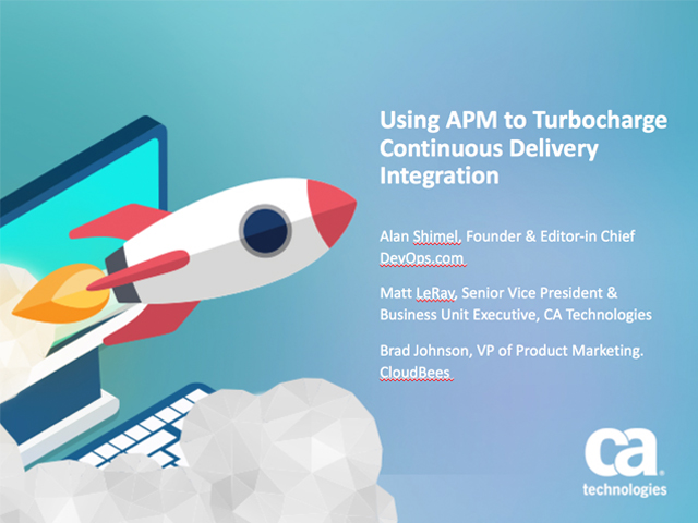 Using APM to Turbocharge Continuous Integration