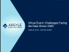 Challenges Facing the Data Driven CMO