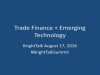 Trade Finance and the opportunity for short-term lending for SMEs