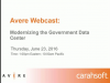 Modernizing the Government Data Center