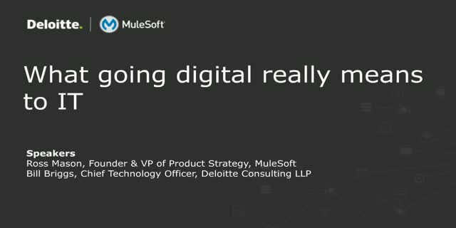What Going Digital Really Means to IT