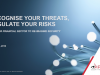 Recognise your Threats, Regulate your Risks