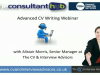 Advanced CV Writing for the Consultancy, Interim and Contract Market