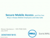 Keep mobile employees and data safe with SonicWALL's Secure Mobile Access