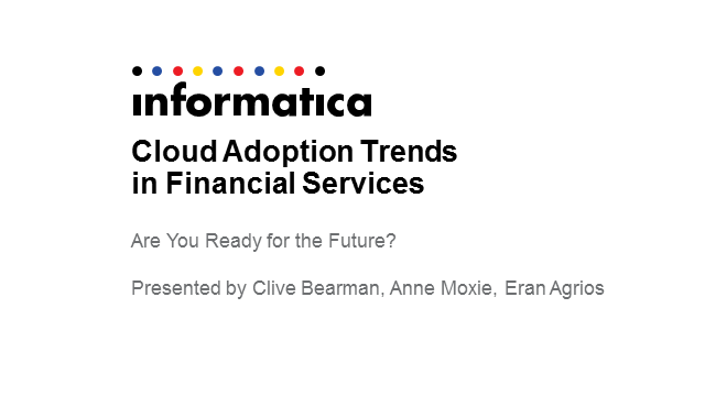 Cloud Adoption Trends in Financial Services: Are You Ready for the Future?