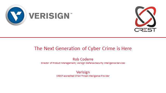 The Next Generation of Cyber Crime is here