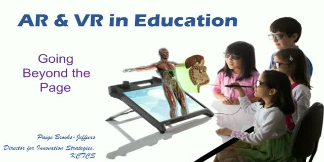 AR & VR in Education - Going Beyond the Page!