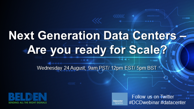 Next Generation Data Centers – Are you ready for scale?