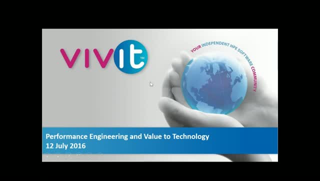 Performance Engineering and Value to Technology