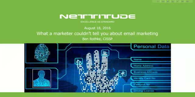 What a marketer couldn't tell you about email marketing