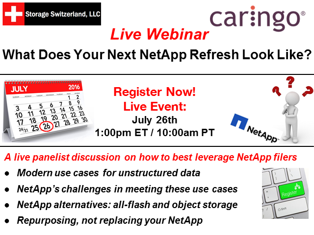 What Does Your Next NetApp Refresh Look Like?