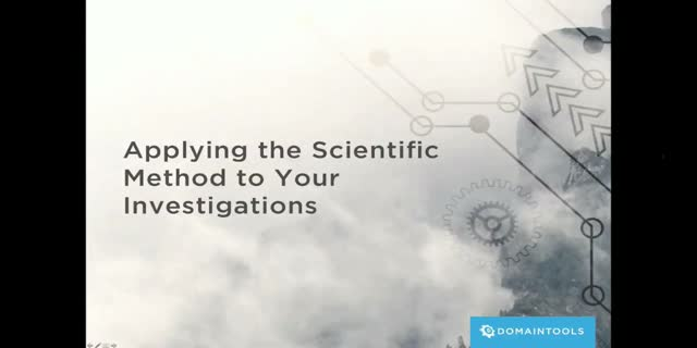 Applying the Scientific Method to Threat Intelligence