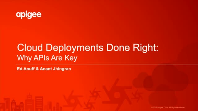 Cloud Deployments Done Right: Why APIs Are Key