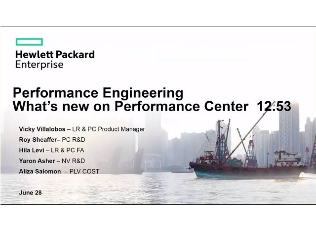 What's new in Performance Center 12.53