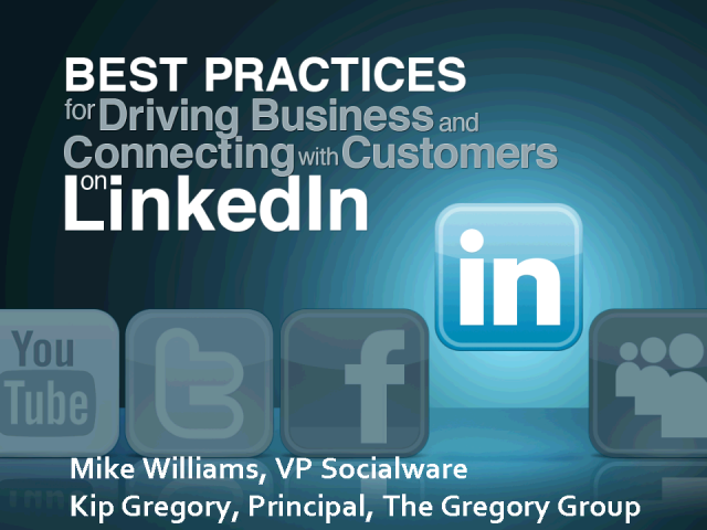 Best Practices for Driving Business on LinkedIn