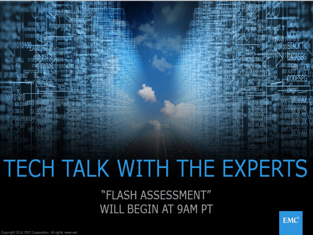 Tech Talk: Flash Assessment