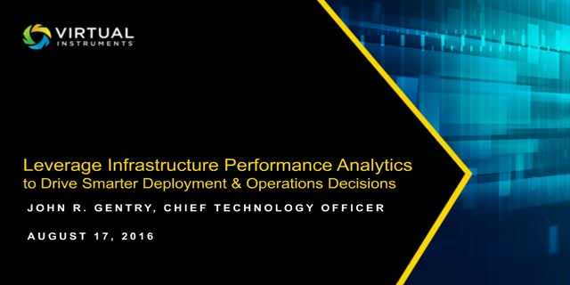 Leveraging Infrastructure Performance Analytics for Smarter Deployment Decisions