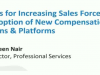 Improve Sales Force Adoption of Plans and Platforms by 40%