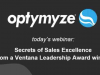 Secrets of Sales Excellence from Ventana Leadership Award Winner
