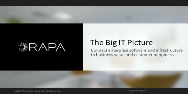 The Big IT Picture: Where Does Enterprise Software & Infrastructure Fit?