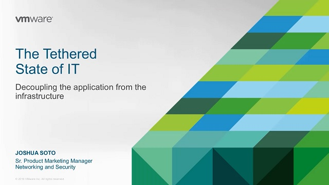 The Tethered State of IT: Decoupling the Application From the Infrastructure